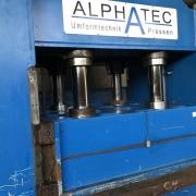 500 Tonnen Doppelständer-Hydraulikpressepresse Alphatec