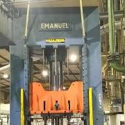 500 Tonnen Hydraulische 4-Säulenpresse Fabrikat Emanuel