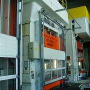 630 Tonnen Doppelständerpresse Müller