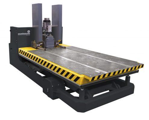 Schüssler Werkzeugwechselwagen frei verfahrbar