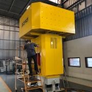 500 Tonnen Hydraulische 4-Säulen-Presse Fabrikat SORG
